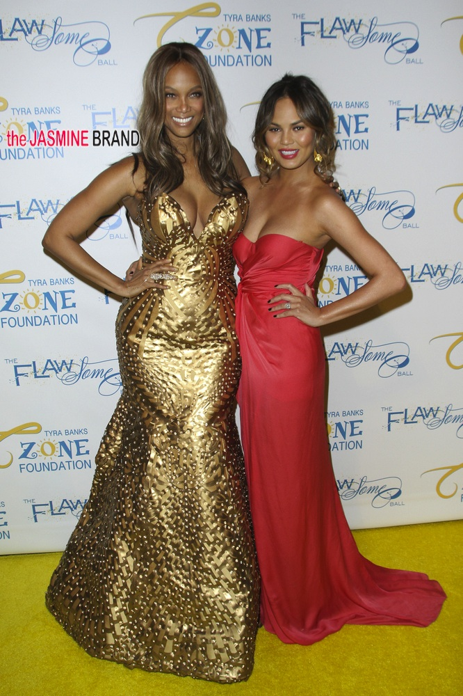 Tyra Banks' 2014 Annual Flawsome Ball - Arrivals