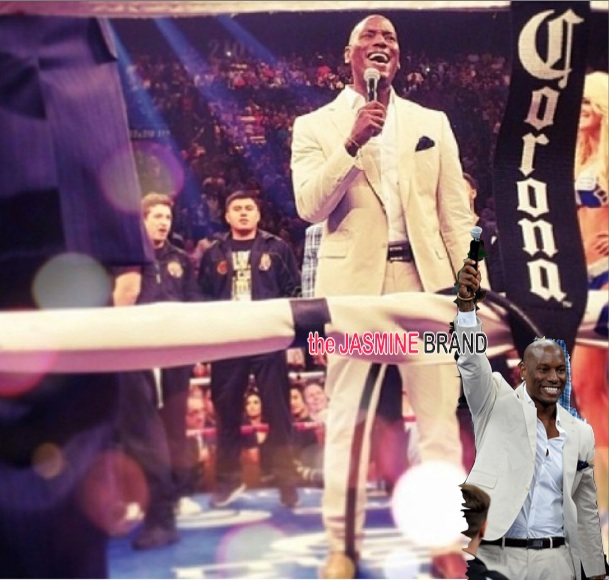 [WATCH] Tyrese Calls His National Anthem Performance, At Mayweather Fight 'Horrible'