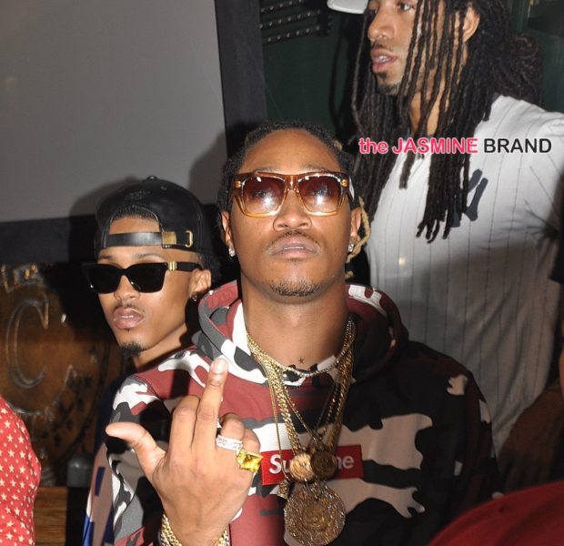 Spotted. Stalked. Scene. August Alsina & Future Party in DC