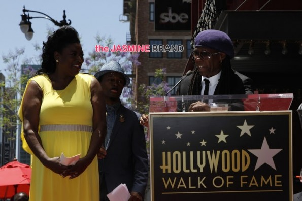 LV - Nile Rogers-luther vandross-hollywood walk of fame-the jasmine brand