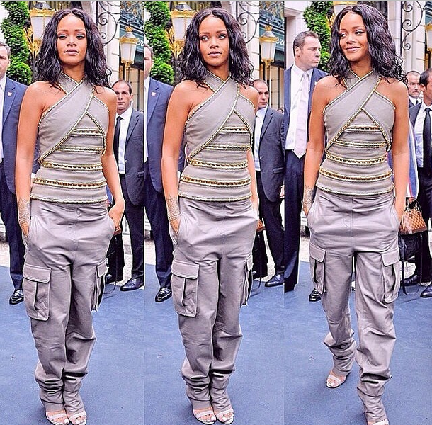 [Photos] Rihanna Launches 'Rogue' In Paris