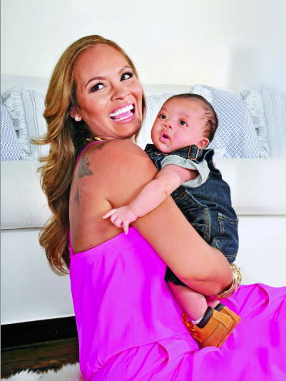 Baby Heaven! Evelyn Lozada Reveals Photos of Infant Son, Carl Leo