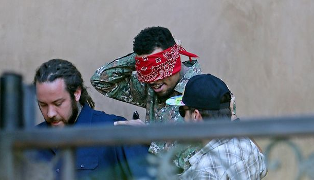 [Photos] Welcome Home! Karrueche Throws Chris Brown A Surprise Party