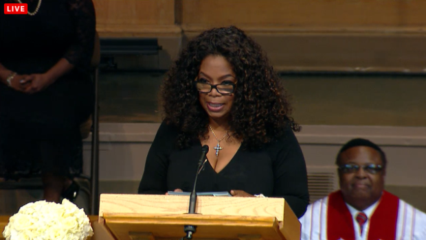 [VIDEO] First Lady Michelle Obama, Cicely Tyson, Oprah Winfrey Speak @ Maya Angelou's Memorial + Watch Full Service