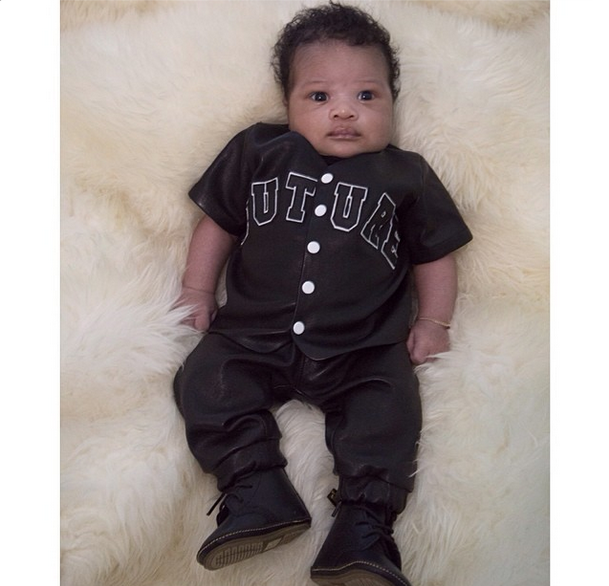 Kiddie Cuteness: Ciara Reveals First Baby Photo of Son Future