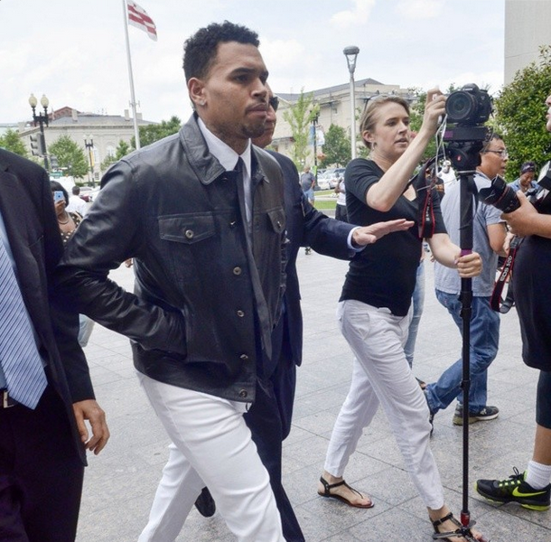 Chris Brown Returns to DC, Rejects Plea Deal