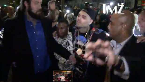 [VIDEO] Chris Brown Releases New Track, 'Flame' + Singer Spotted Leaving Hollywood Club Tipsy