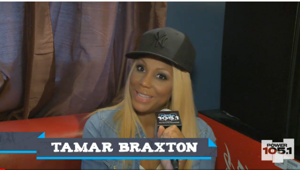 "[VIDEO] Tamar Braxton Defends T.I. ""He's Going to Stand Up For His Family"""