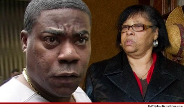 Tracy Morgan and Mother