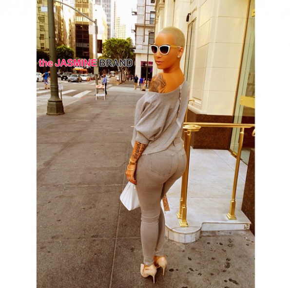amber rose street poses for instagram the jasmine brand