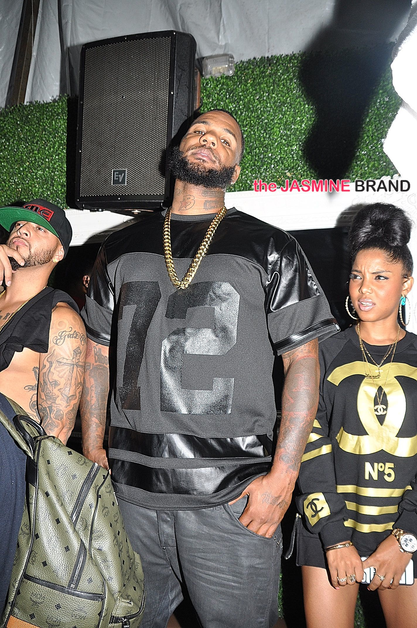 assistant lolo rapper the game visits dc rose bar the jasmine brand