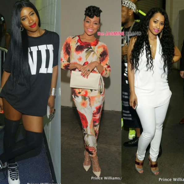 atlanta birthday bash hot 1079 sevyn streeter monica tammy rivera the jasmine brand