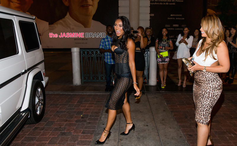 [Photos] Evelyn Lozada Surprises Daughter Shaniece With