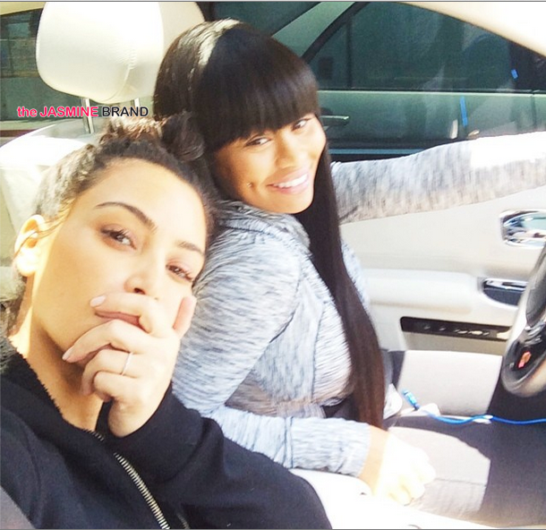 Celebrity Stalking: Kim Kardashian & Blac Chyna, August Alsina, Angela Yee & Evelyn Lozada's Son