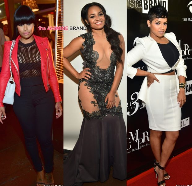 [Photos] 'Toast To Young Hollywood' Draws: Meagan Good, Amber Rose, Floyd Mayweather, Blacc Chyna & Brandon Jennings