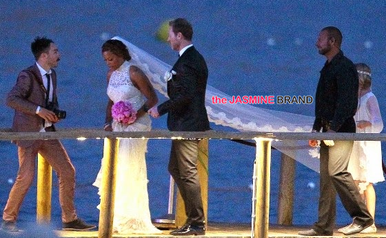 celebrity wedding photos rapper eve marries maximillion cooper in ibiza 2014 the jasmine brand
