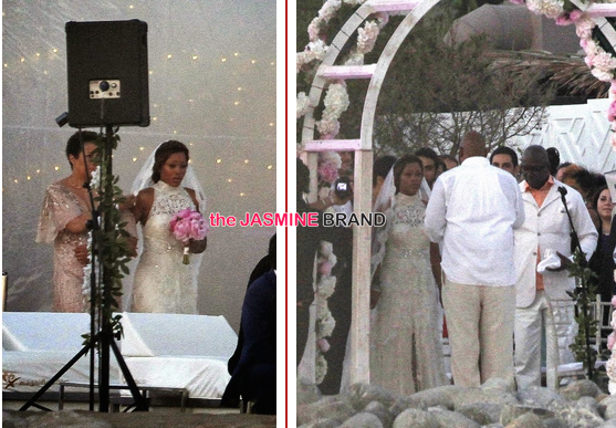 celebrity wedding photos rapper eve marries maximillion cooper in ibiza bride 2014 the jasmine brand