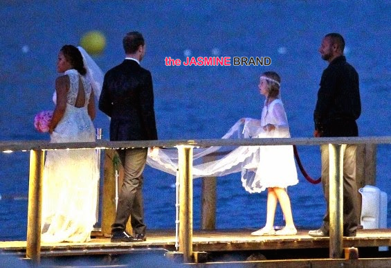 celebrity wedding photos rapper eve marries maximillion cooper in ibiza flower girl 2014 the jasmine brand