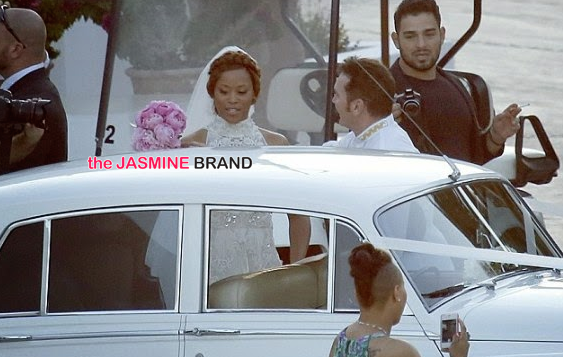 celebrity wedding photos rapper eve marries maximillion cooper in ibiza post ceremony 2014 the jasmine brand
