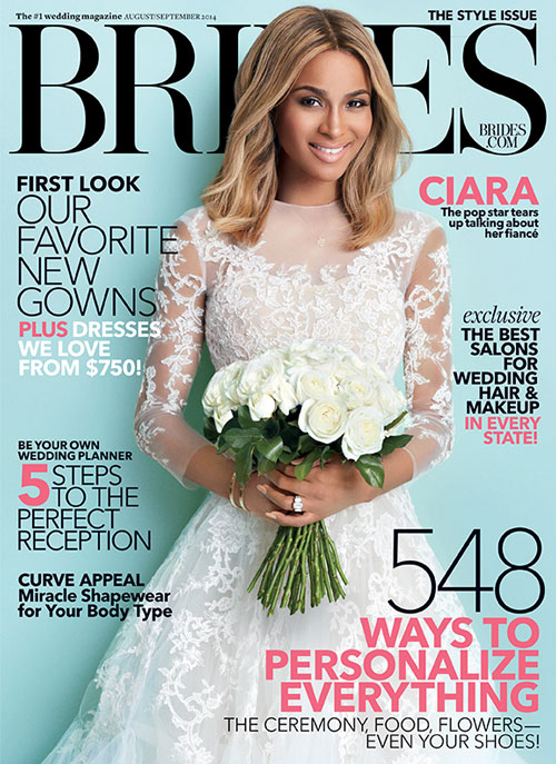 ciara covers bride magazine the jasmine brand