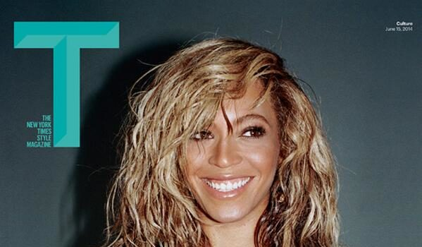 Beyoncé Covers T Magazine