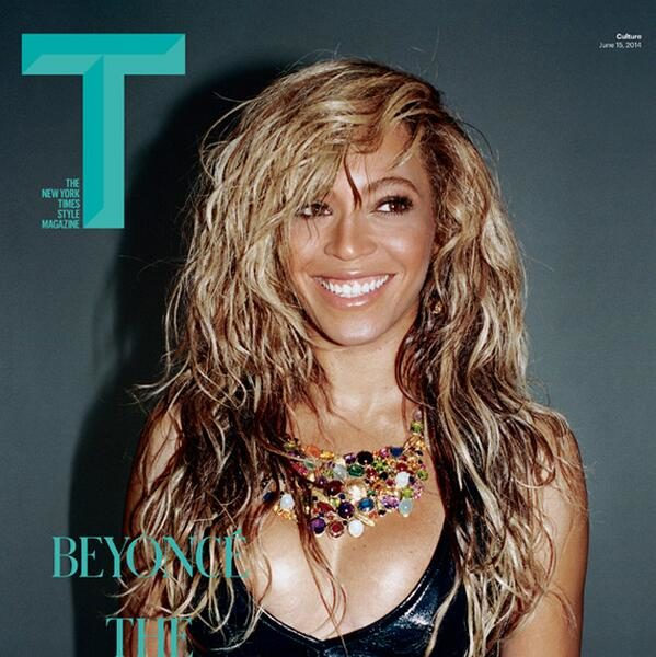 Beyoncé Covers T Magazine