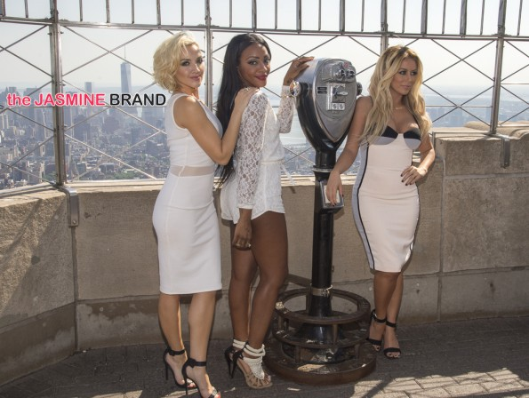 "Empire State Building Hosts ""Danity Kane"" in New York City on June 2, 2014"