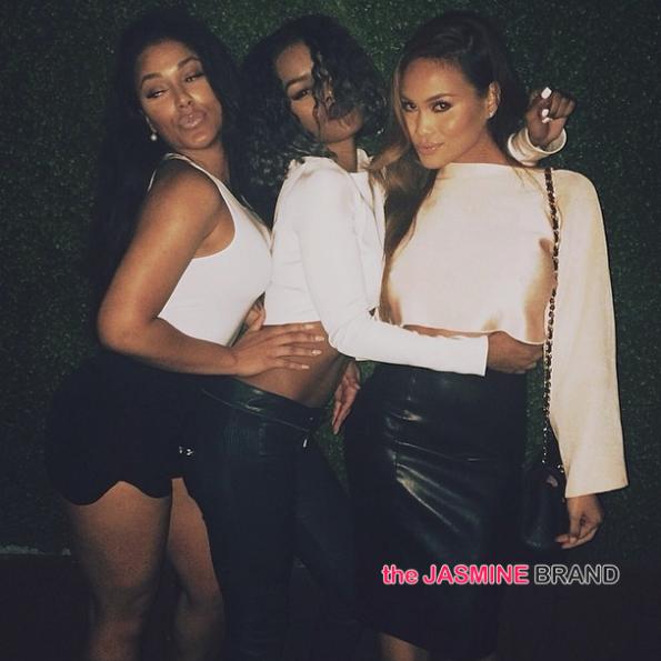 daphne joy teyana taylor listening party new single maybe 2014 the jasmine brand