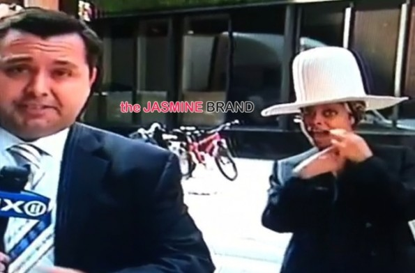 erykah badu pulls prank tries to kiss tv news anchor the jasmine brand