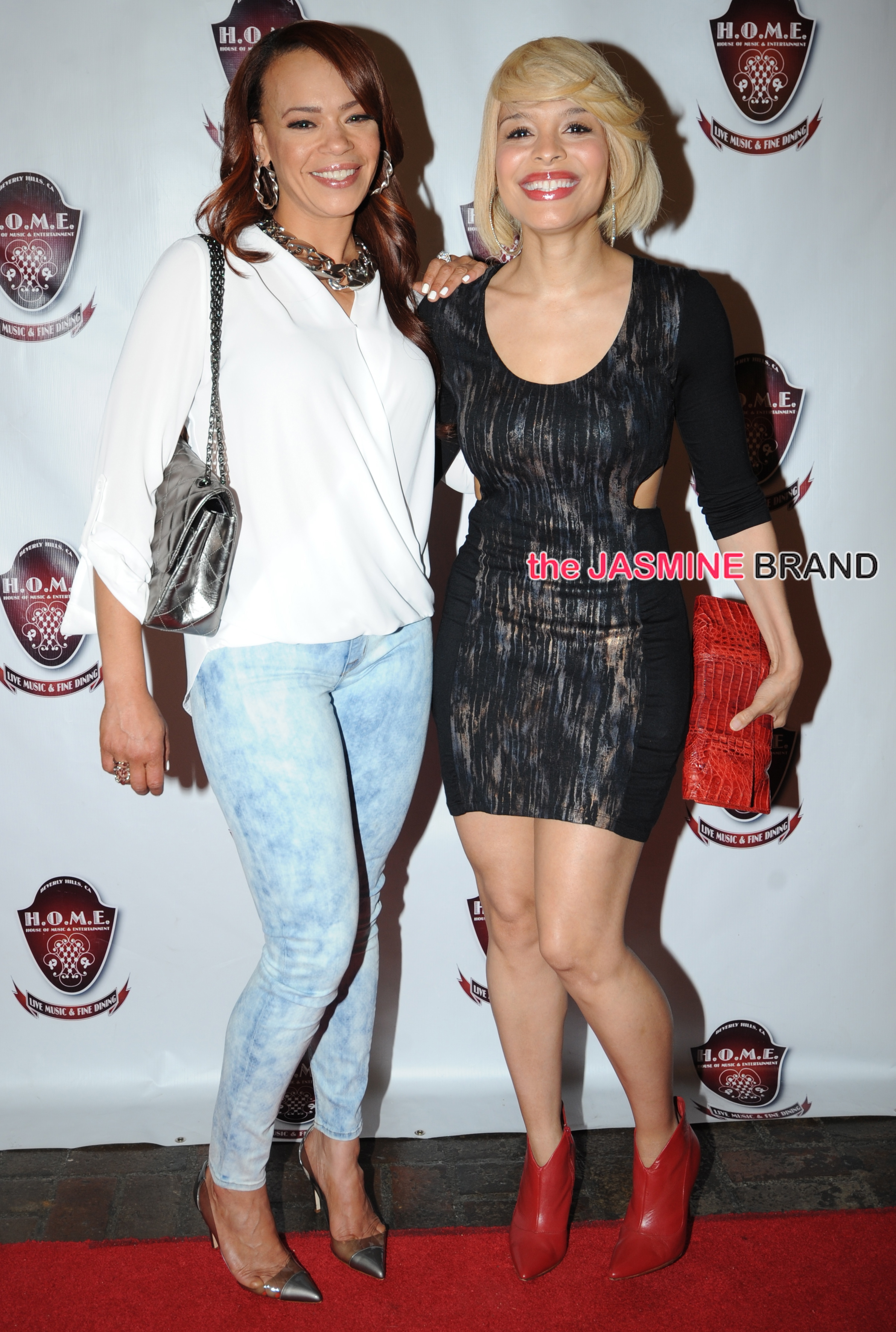 Faith Evans, Isaiah Washington, Sheryl Lee Ralph, Antonique Smith, and Stevie Wonder, Nicci Gilbert attend Kelly Price showcase at HOME in Beverly Hills