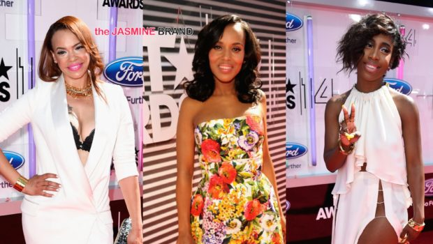 [Photos] BET Awards Red Carpet Fashion:  All White, High Slits & Cut Outs Rule