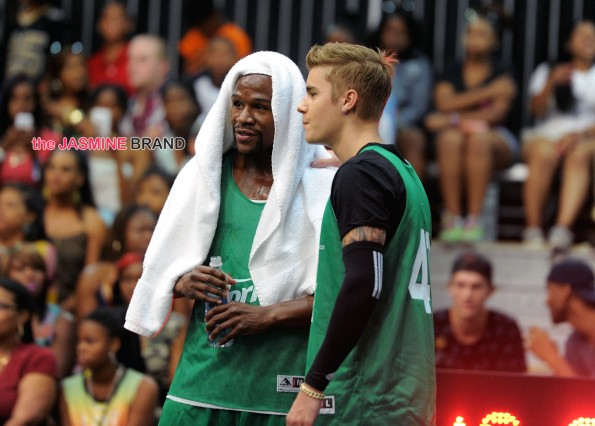 2014 BET Experience At L.A. LIVE - Sprite Celebrity Basketball Game