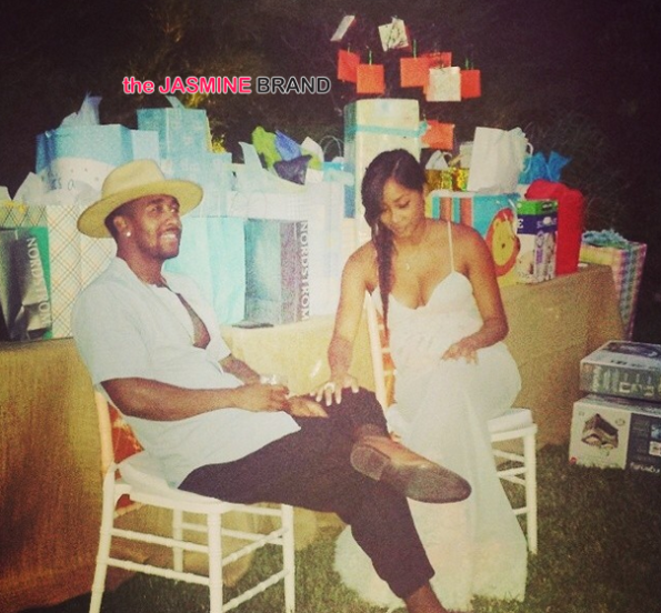 gifts omarion and pregnant girlfriend apryl jones host baby shower the jasmine brand