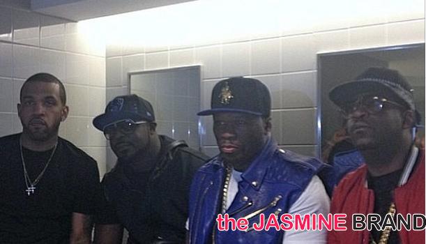 50 Cent's G-Unit Lloyd Banks, Tony Yayo, Young Buck Reunite At Summer Jam