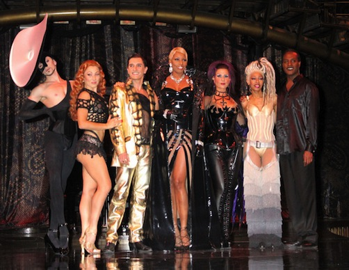 NeNe Leakes At Zumanity Show Rehersals