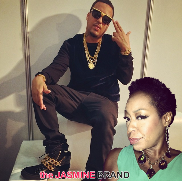 instagram beef-french montana-tichina arnold-the jasmine brand