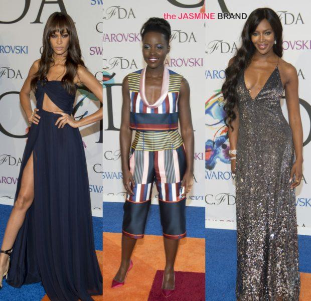 CFDA Awards Red Carpet: Lupita Nyong'o, Joan Smalls, J.Hud, Iman, Rachel Roy & Chrissy Tiegen