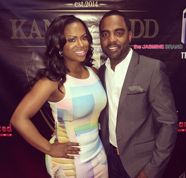 kandi burruss-todd tucker-kandi hosts wedding special viewing party 2014-the jasmine brand