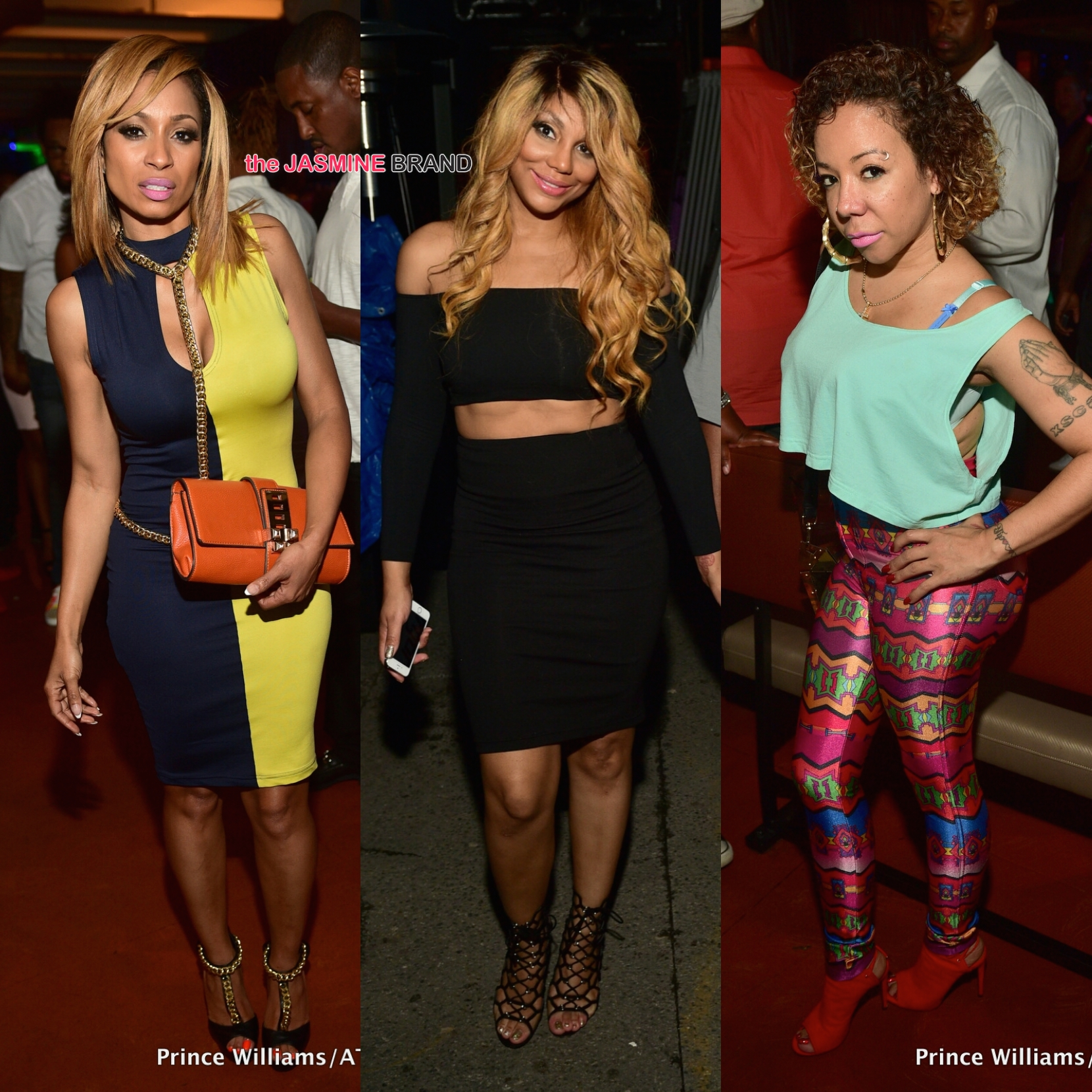 ATL Clubbin': Tamar Braxton, Tameka 'Tiny' Harris, Kevin ... K Michelle Before And After Body