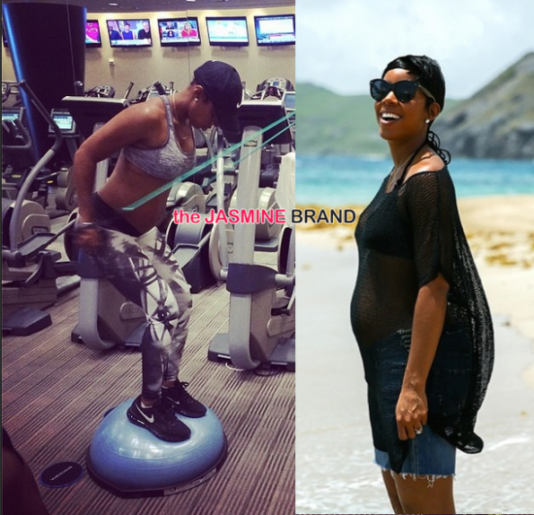 kelly rowland maternity pregnancy work out the jasmine brand