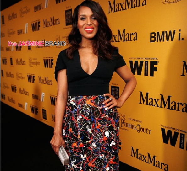 kerry washington-first red carpet appearance-post pregnancy-the jasmine brand