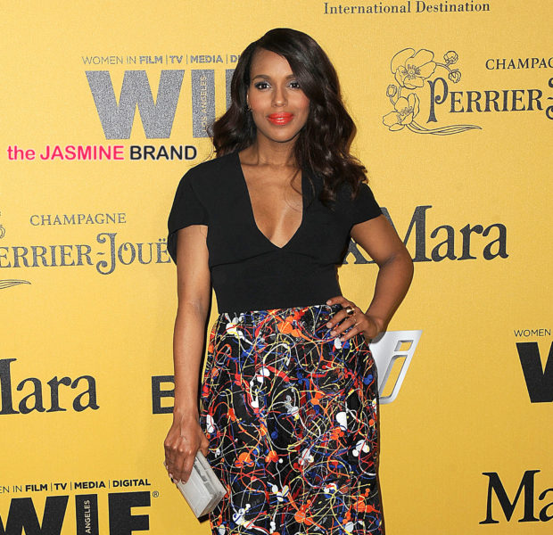 Bounce Back! Actress Kerry Washington Makes 1st Post Pregnancy Red Carpet Appearance
