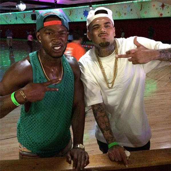 Chris Brown Involved In Ugly Feud With Kevin McCall