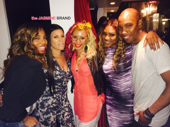 la hair viewing party kiyah wright-lisa b angela and aj crimson the jasmine brand