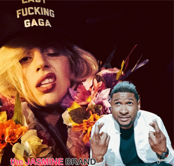 lady gaga-using usher as example to help with lawsuit-the jasmine brand