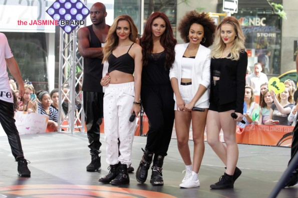 Little Mix Performs Live at The Today Show - June 17, 2014