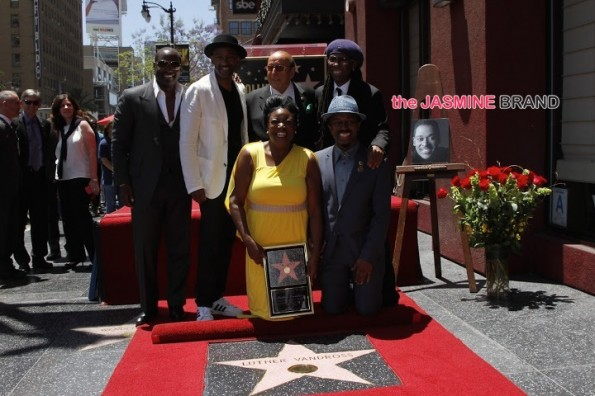luther vandross-hollywood walk of fame-Clive Davis Nile Rogers Johnny Gill-the jasmine brand