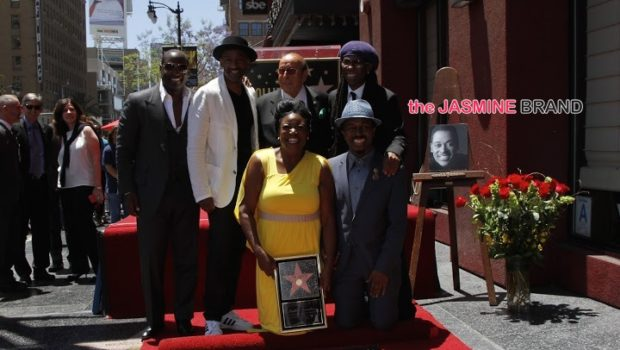 [Photos] Luther Vandross Receives 'Hollywood Walk of Fame' Honor: Johnny Gill, Lalah Hathaway Attend
