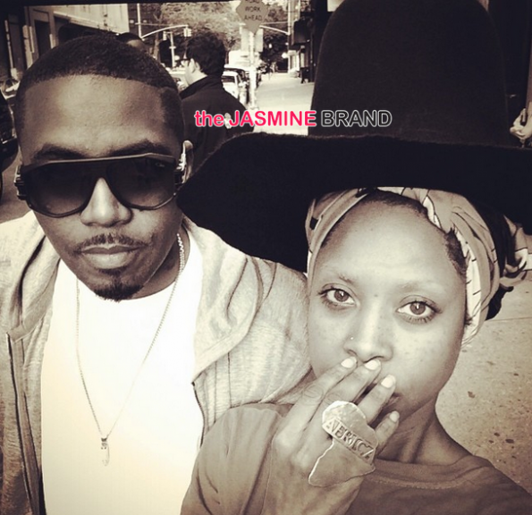 nas and erykah badu selfie the jasmine brand
