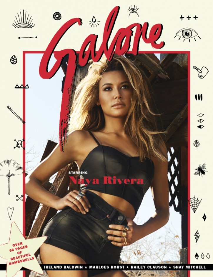 naya rivera-galore magazine-the jasmine brand
